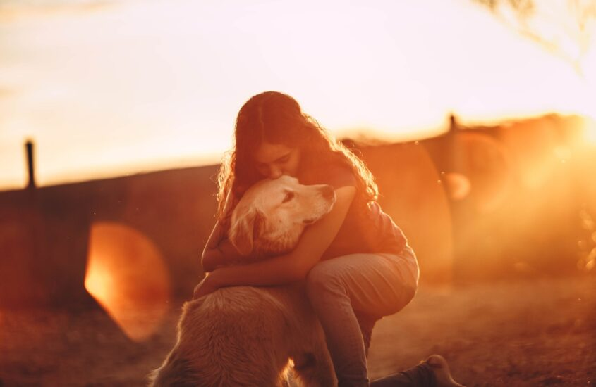 Pets don't see imperfections, they only see Love.